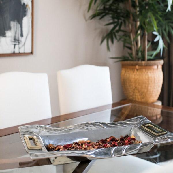 centro de mesa artesanal artalia