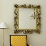 espejos artesanal de laton vivladi artalia